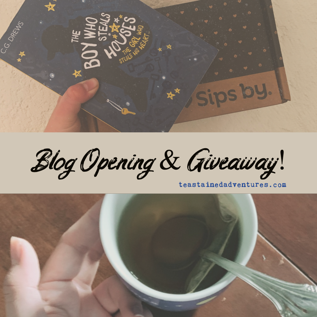 OFFICIAL BLOG OPENING and GIVEAWAY!