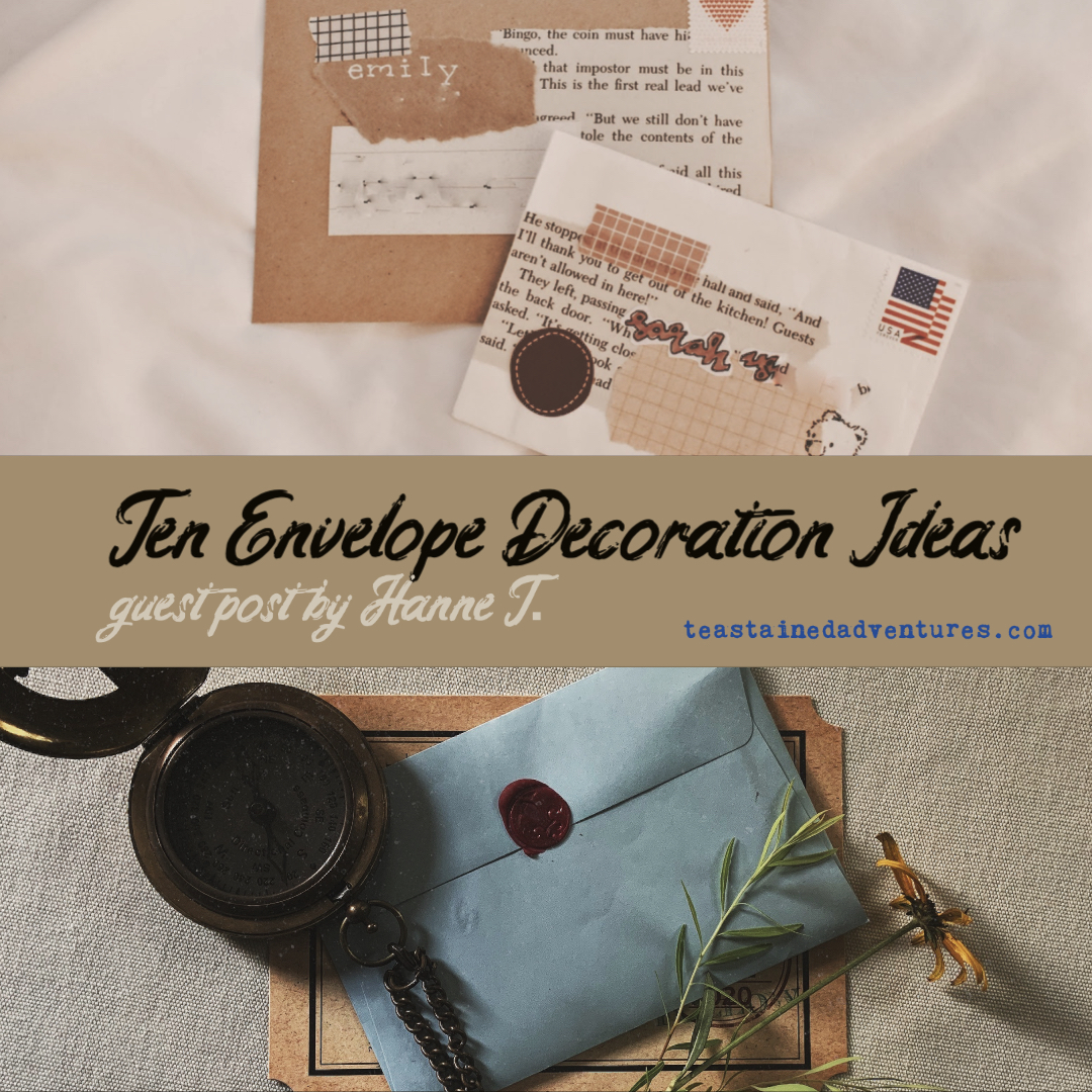 Ten Envelope Decoration Ideas // Guest Post by Hanne T.
