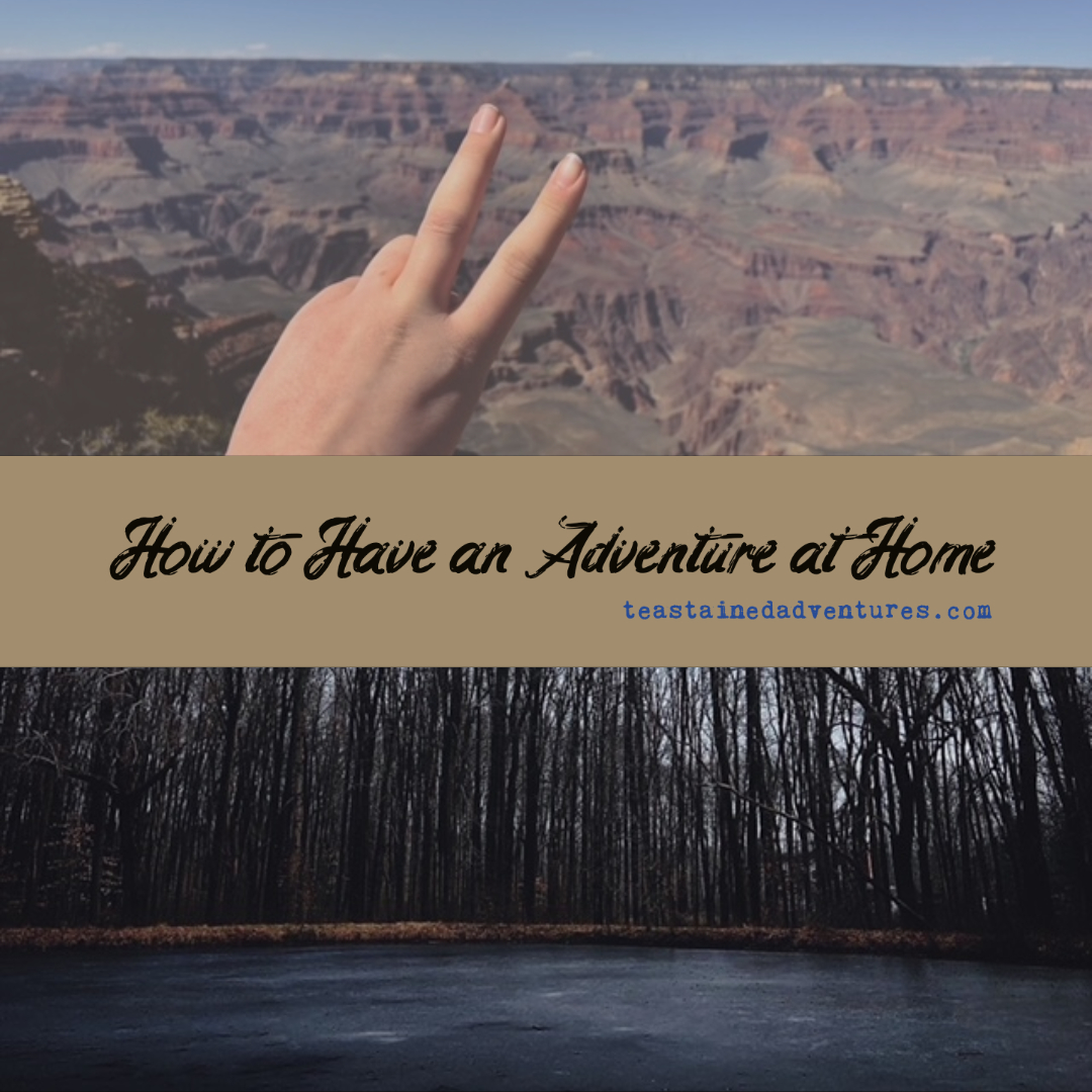 How to Have an Adventure…at Home