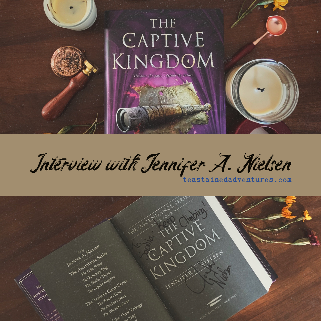 Interview with Author Jennifer A. Nielsen!