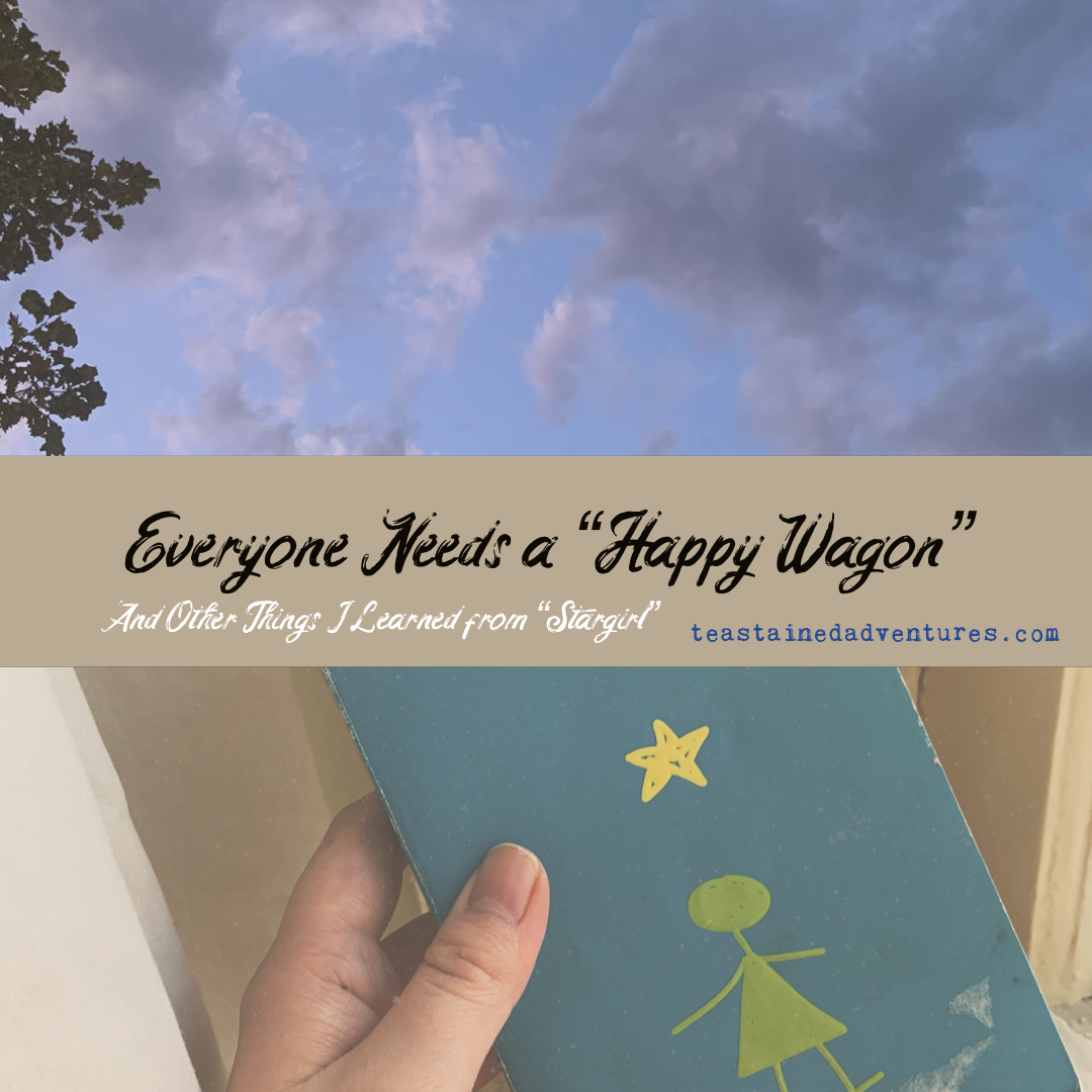 "Everyone Needs a ""Happy Wagon,"" and Other Things I've Learned from Stargirl by Jerry Spinelli"