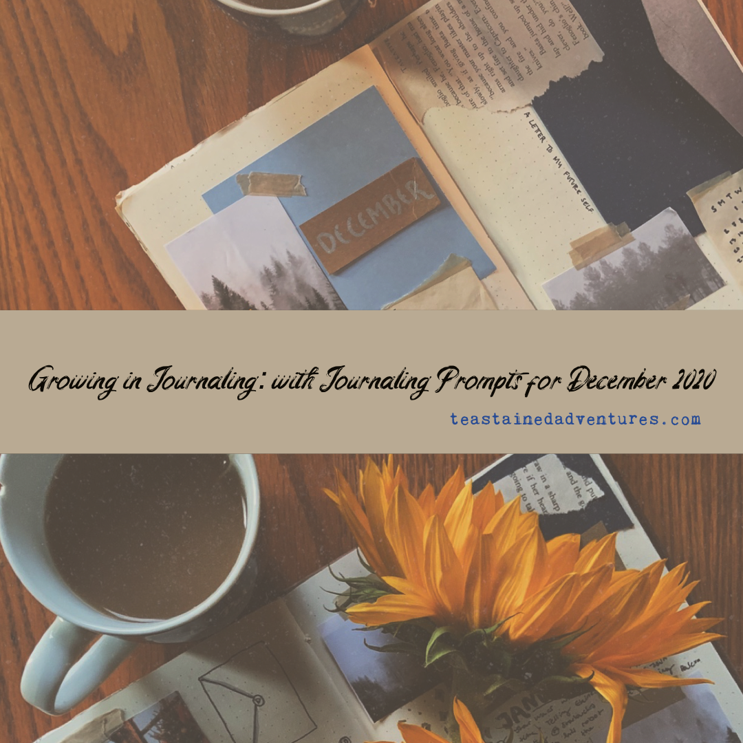 Growing In Journaling: with December Journaling Prompts